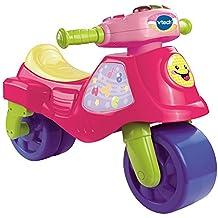 VTech Ciclo Moto 2 en 1 - Triciclo, rosa (181755) (versión en francés)