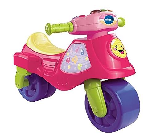 Vtech - 181755 - Tricycle - Cyclo Moto 2 En 1 - Rose