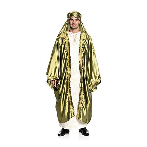 Kostümplanet® König Caspar Kostüm Herren Hl. 3 Könige Universalgröße