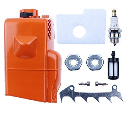 Haishine Couvercle de filtre à air de cylindre de protection de moteur pour STIHL 018 MS180 MS 170 180 Pièces de rechange de rechange pour tronçonneuse