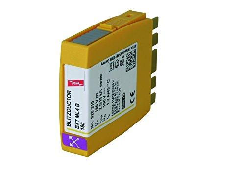 Dehn+Söhne Blitzstrom-Ableiter-Modul BXT ML4 B 180 f.Blitzductor XT Blitzstromableiter für Informations-/MSR-Technik 4013364109124