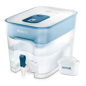 414jiZUWk L. SS300  - BRITA Wasserfilter Flow inkl. 1 MAXTRA+ Filterkartusche - XXL Tischwasserfilter mit Zapfhahn zur Reduzierung von Kalk, Chlor und geschmacksstörenden Stoffen