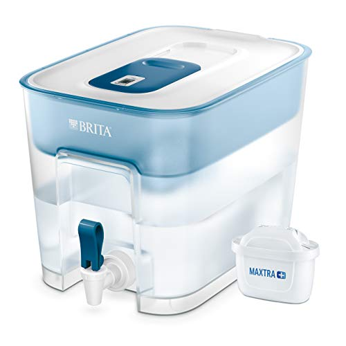 BRITA 1027666 Filtro d'Acqua Pitcher Water Filter Blue,Transparent,White 8.2 L