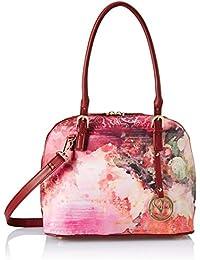 Satyapaul Women's Shoulder Bag (Burgandy)
