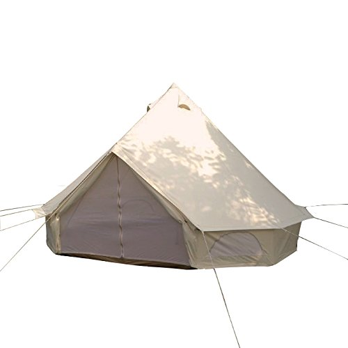 safari camping outdoor four -season family camping waterproof luxury bell tent