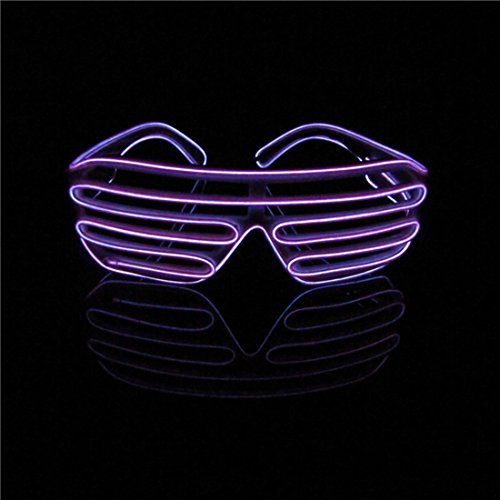 Lerway Neon El Wire LED Light Up Shutter Fashion