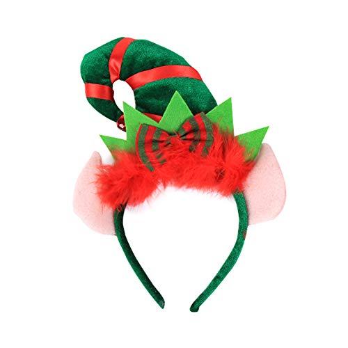 Vi.yo Diadema Turbante Navidad Sombrerito Puntiagudo