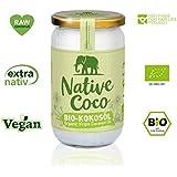 Huile de coco bio extra vierge - 1000ml Graisse de coco végane, huile de noix de coco pressée à froid | superfood sans additifs | pour cuisiner, pâtisser, pour le corps et la peau par par Native Coco