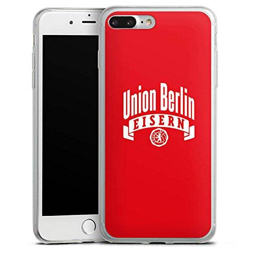 Apple iPhone X Slim Case Silikon Hülle Schutzhülle 1. FC Union Berlin Fanartikel Fußball Silikon Slim Case transparent
