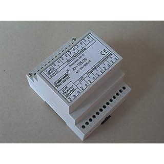 24VDC Trennrelais für Hutschiene. 5 Motore Art. 024-10015-25