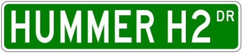 custom-street-sign-hummer-h2-street-sign-3x18inches