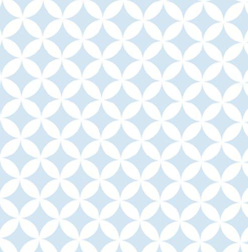 *Klebefolie Möbelfolie Elliott hellblau Dekorfolie 45 cm x 200 cm Selbstklebefolie Bastelfolie*