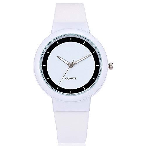 Förderung! Damen Armbanduhr Mädchen Jungen Sport Casual Silikon Uhren Sportuhr Analog Quarzuhr Geschenk LEEDY -