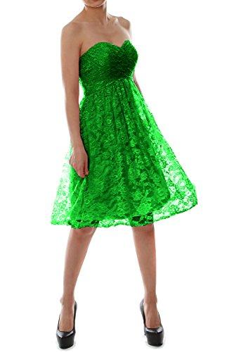 MACloth - Robe - Trapèze - Sans Manche - Femme Vert - Vert