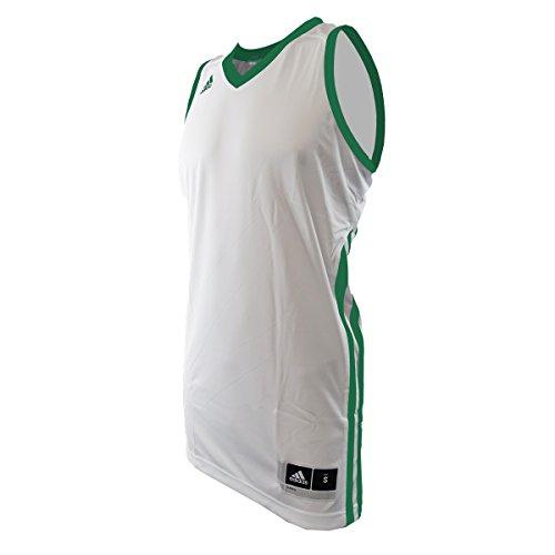 Basketball Sleeveless E Kit2.0 JER WHITE/KELLYSLD M
