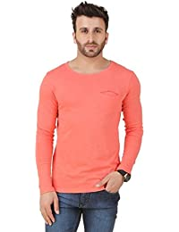 New Trendy Frost Black Printed Round Neck Full Sleeve T-Shirt