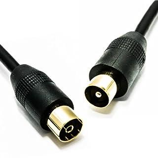 RF TV Antenne Digitale Erdgebundene Verlängerung Kabel Männlich Zum Weiblich Koax Kabel 1,5 m