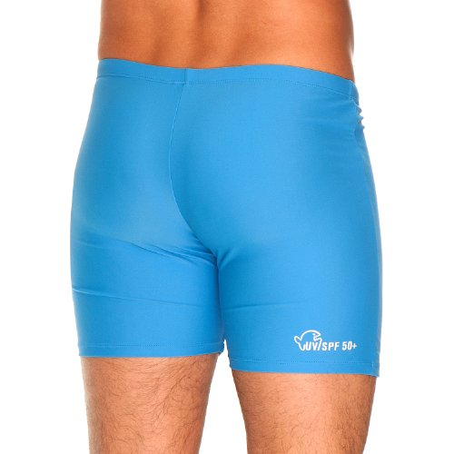 IQ-Company Herren Badehose UV around the world 2444_blue