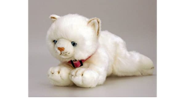 Keel Toys Misty White Cat Soft Toy 30cm New With Tags