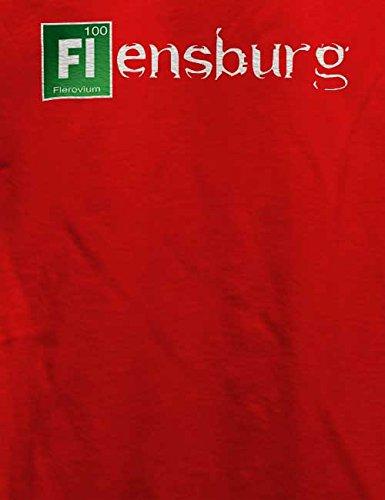 Flensburg T-Shirt Rot