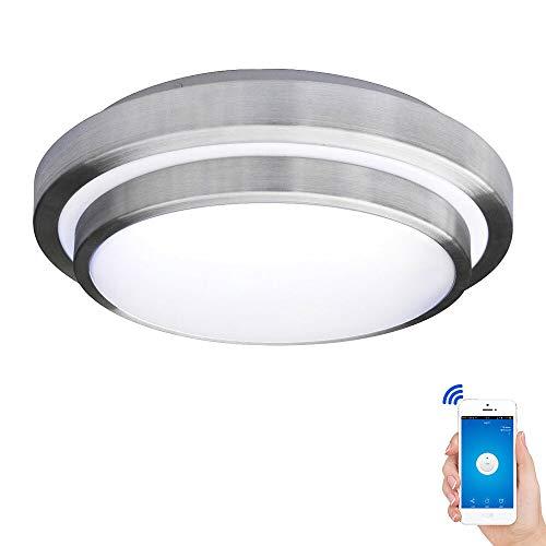 SBB Iluminación de techo: Protección para los Ojos, Control WIFI, AC110-240V, Blanco...