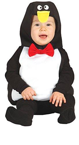 Guirca-Kostüm Pinguin Baby, Größe 6-12Monate - Pinguin Baby Kostüm