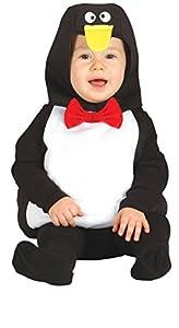 Guirca- Disfraz pingüino baby, Talla 6-12 Meses (85552.0)