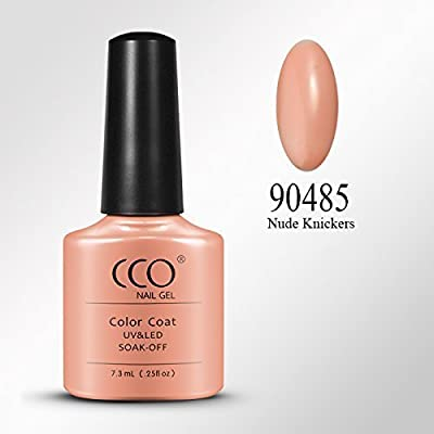 Nude Knickers 90485 - CCO UV LED Nail Gel Polish Shellac Varnish Professional Nails Soak Off