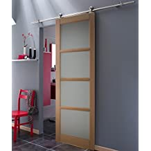 Porte coulissante style industriel chambre style for Porte interieur solde