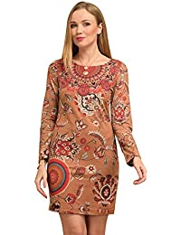 796c5373009cd Amazon.fr   Marron - Robes   Femme   Vêtements