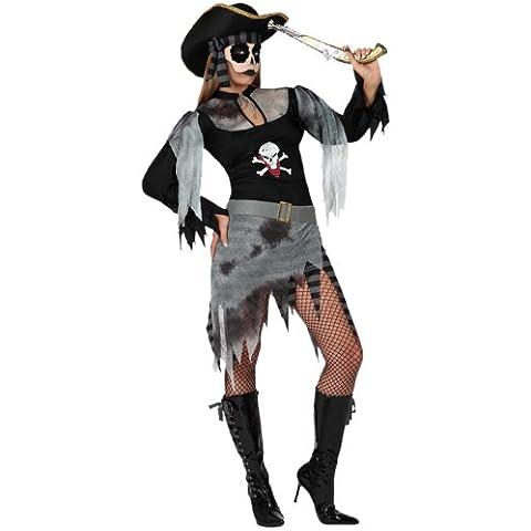 Atosa - Disfraz de pirata para mujer, talla 38 - 40 (14942)