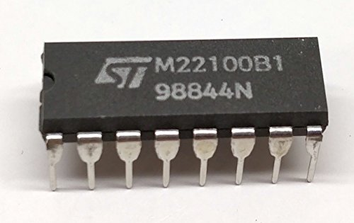 Crosspoint Switch (3 Stück M22100B1 | 4 X 4 CROSSPOINT SWITCH WITH CONTROL MEMORY | STMicroelectronics | DIP16 Gehäuse)