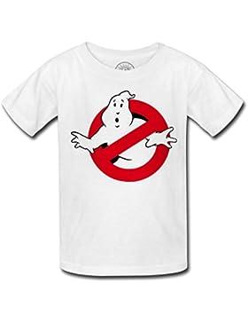 T-shirt bambino Ghostbusters Scary Movie paura dei fantasmi logo divertimento