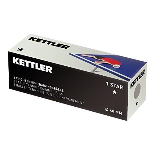 Preisvergleich Produktbild Kettler Basic–Set 3Bälle weichen Kunststoff spezielle pinpong Lebensdauer Outdoor