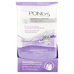 Ponds Evening Soothe Moisture Clean Towelettes, 28 ct