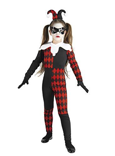 chiber - Jester Kinder Kostüm (8-10 - Vergil Devil May Cry 3 Kostüm