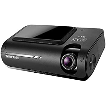 Thinkware F770 Full HD 1080p Dash Cam 16GB with Wi-Fi, Super Night Vision, GPS, Mobile Application, Sony Exmor CMOS Sensor, Safety Camera Alerts, Road Safety Warning System, Thermal Self-Protection, Fail-Safe Technology, Dual Save Technology and Cigar Lighter Cable