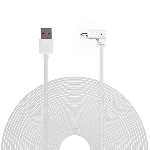 Blink XT/Indoor Home Cam Ladekabel BECEMURU 19.6ft/6m Wetterfestes Kabel für Blink XT/Indoor Home Cam (Weiß)