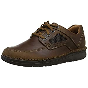 Clarks Unnature Time, Zapatos de Cordones Derby Hombre
