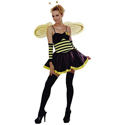 Kostüm Biene mit Flügeln Bienenkostüm Faschingskostüm (Flügel Erwachsenen Bienen)