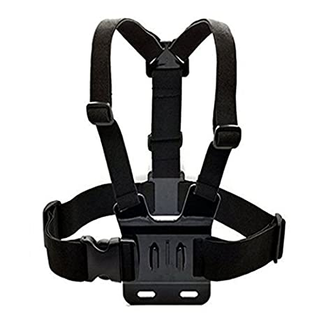 GoPro Harnais de fixation pour épaule réglable de corps élastique ceinture de montage pour Gopro Hero 1 2 3 4 3+ Sprots Caméra
