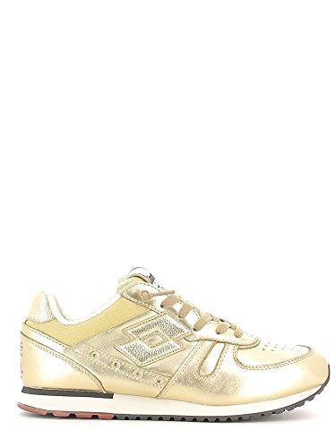 Lotto Leggenda, Donna, Tokyo Shibuya Gold Star White Antique, Pelle, Sneakers, Giallo, 36 EU