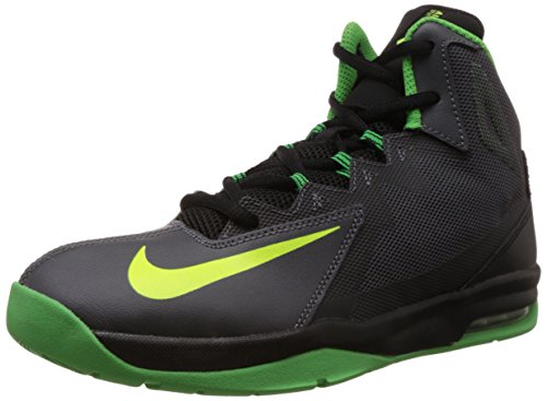 Nike Boy's Air Max Stutter Step 2 (Gs) Dark Grey,Volt,Black,Light Green Spark  Basketball Shoes - 4.5 UK/India (37.5 EU)(5Y US)  available at amazon for Rs.3221