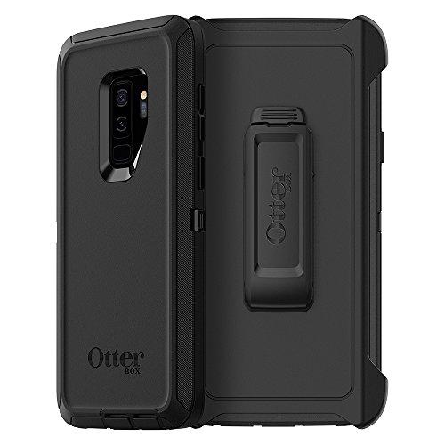 OtterBox Defender Sturzsichere Schutzhülle, (geeignet für Samsung Galaxy S9+) schwarz