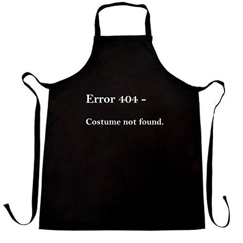 Error 404 Halloween Printed Slogan Zitat Design Premium-Qualität Scherze (404 Fehler Kostüm Nicht Gefunden)