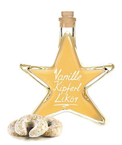 Vanille Kipferl Sahne Likör Sternflasche 0,2 L preisgekrönt & sehr lecker 17% Vol