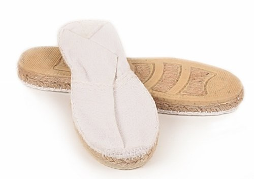 MADE IN SPAIN , Espadrilles pour femme Blanc