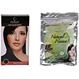 Oxyglow Hair Colour Cream-Black With Oxyglow Natural Heena
