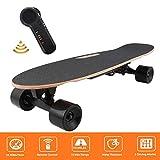 Laiozyen Longboard Électrique - Scooter Skateboard Électrique Adulte avec Télécommande sans Fils, Vitesse Maximal 20km/h Autonomie E-Skateboards (Color6)