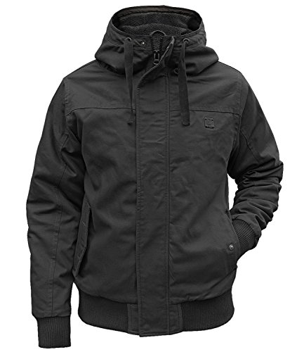 Brandit Winterjacke Grizzly schwarz - 3XL